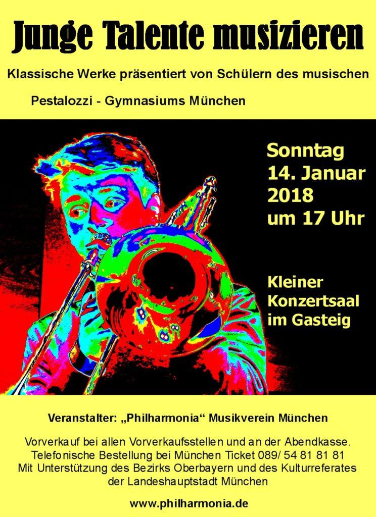 Junge Talente musizieren (14.01.2018)